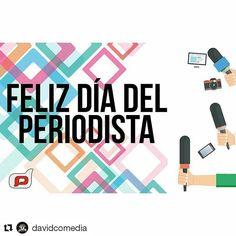 Feliz día a los periodistas Venezolanos !  #FelizDiaDelPeriodista #journalist #news #ChikilukyLove #LookChikiluky #Love #Noticiaa #FelizDia #MondayMorning #Monday #Morning