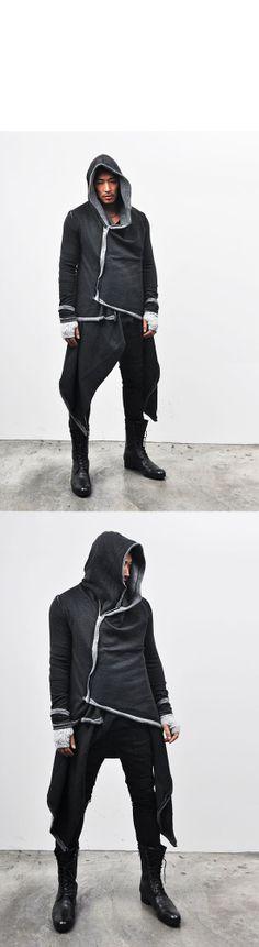 Tops :: Hoodies :: Avant-garde Haute Couture Hood Coat-Hoodie 28