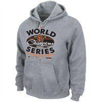 b6bd58e6b San Francisco Giants 2012 MLB World Series Champions Clubhouse Locker Room  Pullover Hoodie - Steel