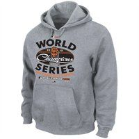 San Francisco Giants 2012 MLB World Series Champions Clubhouse Locker Room Pullover Hoodie - Steel