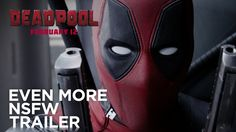 """As promised for Christmas day, Century Fox has released a new action-packed, age-restricted """"red band"""" trailer for the upcoming Marvel film Deadpool, Trailer 2, New Trailers, Movie Trailers, Video Trailer, Chick Flick Movies, Chick Flicks, Dead Pool, Ryan Reynolds, Impressionism"""
