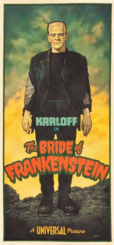 monsterserial:  THE BRIDE OF FRANKENSTEIN by Arthur K. Miller.