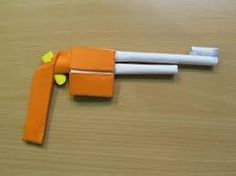 Image result for images of paper gun that shoots