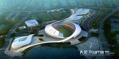 Sports buildings on Behance