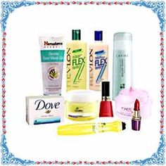 Make the gifting more special by sending Gift to your near and dear ones through Rakhigiftstoindia24x7.com.    The Hamper contains -  Revlon Shampoo 550 ml,   Revlon Conditioner 550 ml,   Pond`s White Beauty Daily Spotless Lightening Cream 50 gm,   Garnier Night Cream 40 Gm ,   Himalaya Face Wash 100 Gm,   Lakme Deep Pore Cleansing Milk 120 ml,   Garnier under Eye Dark Spot Remover Roll On 15 ml,   Dove Soap 100 gm,  Lakme Lip Stick (Maroon or chocolate shade) 4.4 ml,