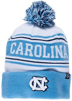 1a7c308cbf7 Zephyr North Carolina Tar Heels College Arctic Knit Hat