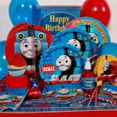 Thomas the Tank Party Perfect Package for 8