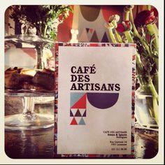 New Café des Artisans Lausanne, News Cafe, My Heritage, Restaurant Bar, Great Places, Restaurants, Places To Visit, Tables, Artisan