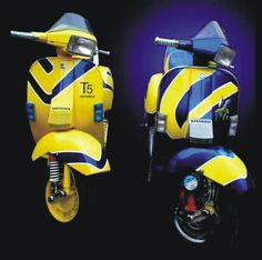 Modern Vespa : The T5 project officially begins