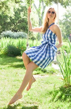 Gingham Draper James Dress
