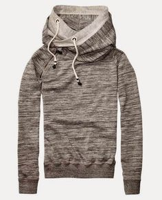 Light Gray North Face Layer Hoodie