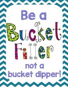 Bucket Filler Starter Kit - printables and activities to use the first week of school
