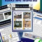 This Rocks and Minerals PDF file has what you need to present to your students in science class. Colourful public domain photos,  and information p...