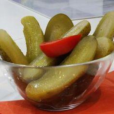 Kovászos uborka - Megrendelhető itt: www.Zmenu.net - A vizuális ételrendelő. Potatoes, Vegetables, Kitchen, How To Make, Food, Kitchens, Cooking, Vegetable Recipes, Eten