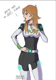 Older Pidge/Katie Holt the Green Paladin from Voltron Legendary Defender