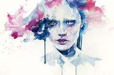 sylvia pelissero (agnes cecile on deviant art). check out the vid on youtube, where she does a speed painting of this image!!