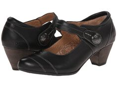 taos Footwear Angel Black Smooth - Zappos.com Free Shipping BOTH Ways