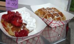 Save the Liege Waffles at The Belgian Waffle Co.