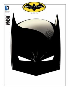 Printable Batman Mask, Perfect for Batman Birthday Party Ideas or just for play!
