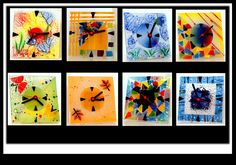fused glass clocks - milfordcollection.com