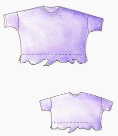 Lagenlook, Einzel - Schnittmuster, Shirt Bali BUY