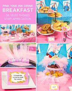 Wednesday: Pink Yink Ink Drink Breakfast