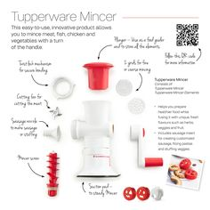 Tupperware Fusion Master Mincer adjustment. Get one for your kitchen by clicking through.