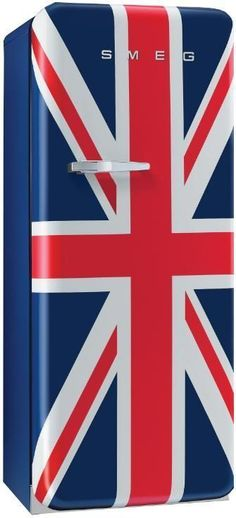 We love this Smeg fridge, great talking point for your kitchen. http://www.pricerunner.co.uk/cl/18/Fridges#q=smeg+fridge+union+jack&search=smeg+fridge+union+jack&sort=4