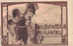 PANTAREI Brescia esposizione 1904,