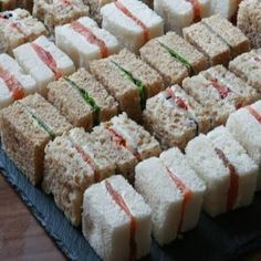 Sandwich variations with different types of bread: smoked salmon cream cheese, . - Sandy - Sandwich variations with different types of bread: smoked salmon cream cheese, … – - Smoked Salmon Cream Cheese, Snacks Für Party, Cold Party Food, Birthday Snacks, Birthday Parties, Food Platters, Appetisers, Appetizer Recipes, Mini Sandwich Appetizers