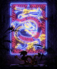 asian neon sign light – New Art Vaporwave Wallpaper, Aesthetic Iphone Wallpaper, Aesthetic Wallpapers, Wallpaper Backgrounds, Neon Light Art, Neon Licht, Image Deco, Vaporwave Art, Neon Aesthetic