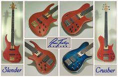 Bruno Traverso Guitars - Basses (examples)