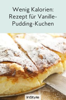 Lecker, süß und gesund: Dieser Kuchen mit Vanille und Pudding schmeckt wirklich jedem – und ist kein Not missing out on cakes despite healthy eating? No problem with this sugar-free vanilla pudding cake. Here is the recipe. Sugar Free Vanilla Pudding, Law Carb, Cake Recipes, Dessert Recipes, Pudding Recipes, Meal Recipes, Asian Recipes, Cooking Recipes, Food Cakes