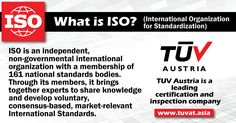 What is ISO? Quality management systems helping businesses to be more efficient and improve customer satisfaction. http://tuvat.asia/get-a-quote Pakistan: +92 (42) 111-284-284 | Bangladesh +88 (02) 8836404 | Sri Lanka +94 (11) 251 2111 #ISO #TUV #certification #pakistan #Bangladesh #Srilanka #iso9001