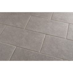 Style Selections Mitte Gray Porcelain Floor and Wall Tile