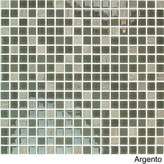 This pack of 20 glass mosaic tile sheets will add a touch of class to your home refurbishments. Each sheet covers 144 square inches, letting you decorate your walls in no time. They're easy to match and fit, and come in a range of elegant colorways.