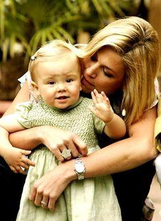 Prinses Maxima met Prinses Ariane