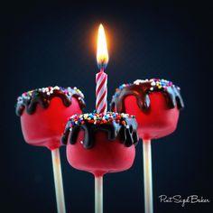 Happy Birthday Cake Cake Pops - Pint Sized Baker