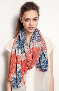 Liberty London 'Union Jack' Silk Scarf available at Nordstrom I simply Must have this!