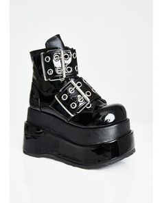 Free, fast shipping on Hell Hunter Unisexx Spike Boots at Dolls Kill, an online boutique for burner clothing, LED clothing, playa shoes & accessories. Goth Platform Shoes, Goth Shoes, Ugly Shoes, Platform Sneakers, Underground Shoes, Kawaii Shoes, Punk Boots, Vegan Boots, Aesthetic Shoes