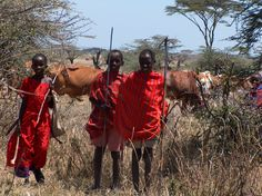 Masai children, Kenya.