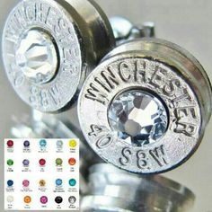 The Original Bullet Varieties!!! Bullet Earrings & Cufflinks... Great Christmas Gifts!!! Many Colors To Choose From $12.99 - $14.99
