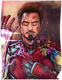"Iron Man"" - Tony Stark / We love you 3000 / Avengers: Endgame / Iron Man Fan Art Marvel Avengers, Marvel Comics, Marvel Fanart, Marvel Memes, Captain Marvel, Captain America, Stony Avengers, Avengers Fan Art, Iron Man Kunst"