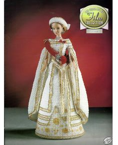 The Golden age of Film Collection Anastasia Fashion Doll  Crochet Pattern  Annies Attic 8412