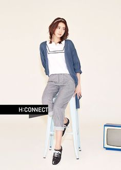 SNSD's YoonA and more of delightful pictures for 'H:Connect' ~ Wonderful Generation