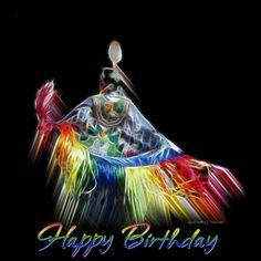 Happy Birthday Native American