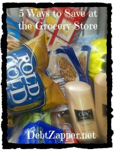 5 Ways to Save at the Grocery Store