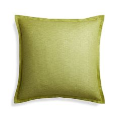 """Linden Apple Green 23"""" Pillow Cover 