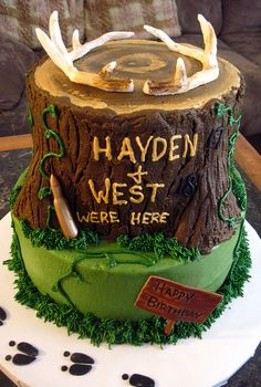 Hunting cake by Shelby's Sweets, via Flickr