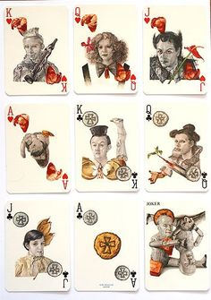 'NALL' playing cards by Grimaud. 1984/5. Designs: FRED NALL HOLLIS - VERY RARE   eBay